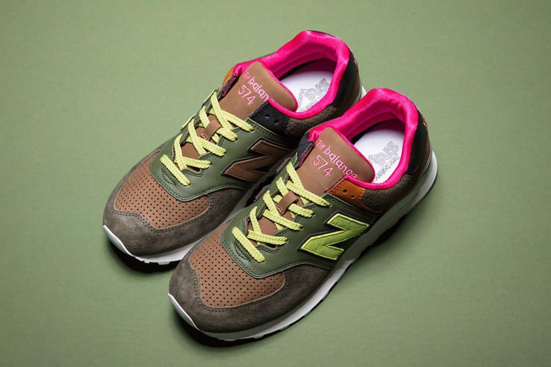 Sneakersnstuff x New Balance 574 2007