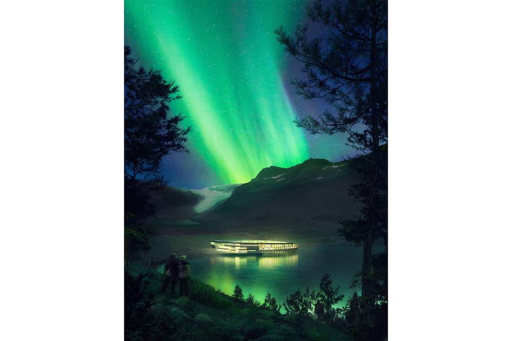 Snohetta Svart Arctic Circle Energy Positive Hotel
