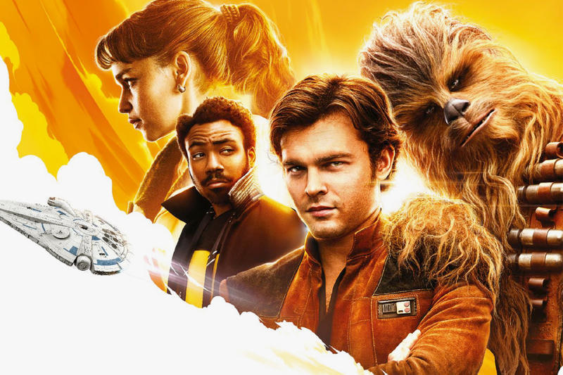 Solo A Star Wars Story Character Posters Han Solo Lando Donald Glover Emilia Clarke Chewie Chewbacca