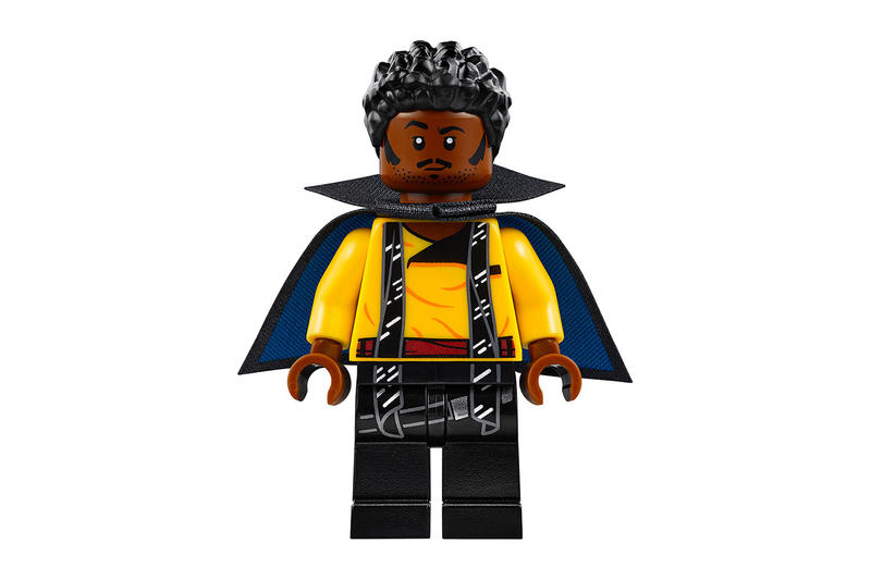 Donald Glover Solo a Star Wars Story Lego Collection set Millennium Falcon Han Solo chewbacca