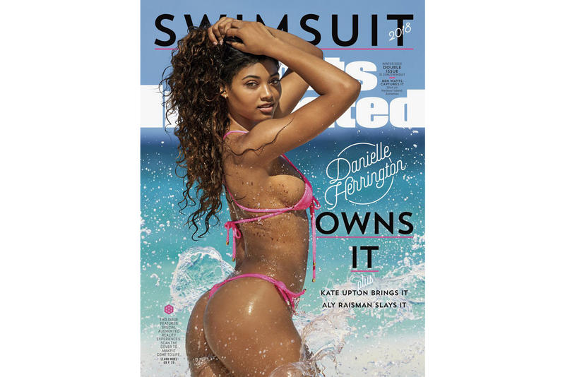 9769348acc Sports Illustrated Swimsuit Issue 2018 Danielle Herrington cover SI
