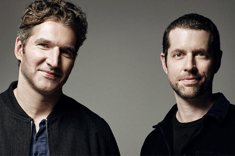 Star Wars New Series Movies Game of Thrones Showrunners David Benioff DB Weiss Write Produce Disney announcement 2018 february 6