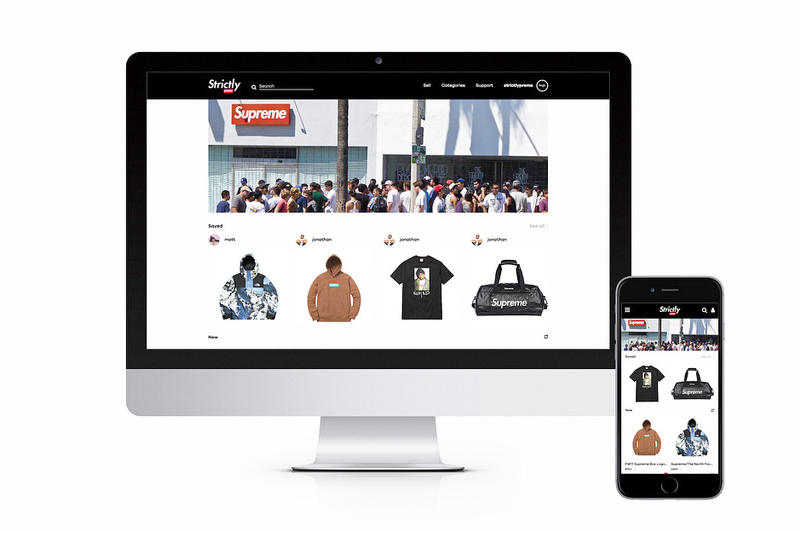 Strictlypreme Is the World's First Supreme-Exclusive Marketplace