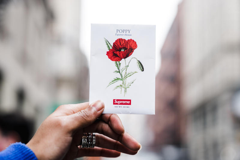 Supreme Poppy Seed Packs Spring Summer 2018 Drop 1