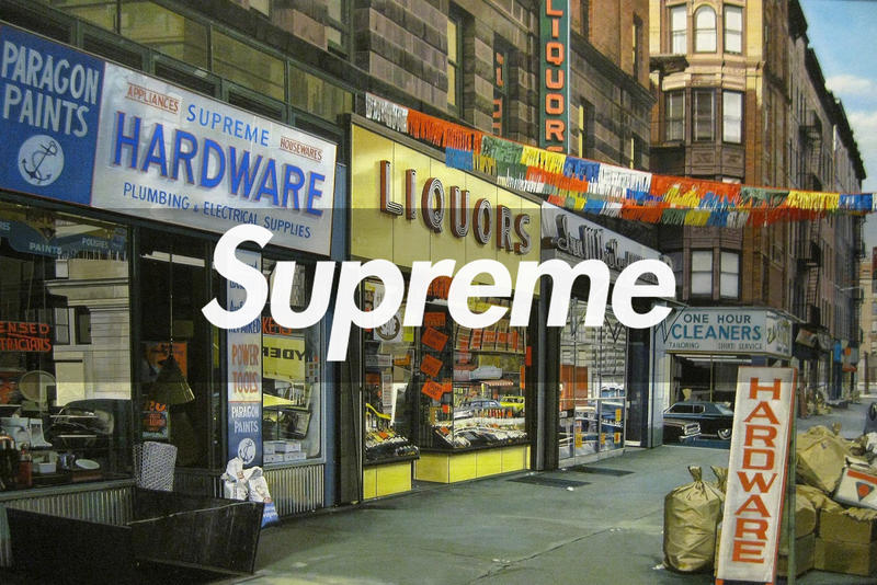 Supreme 2018 Spring/Summer Artists Influence Richard Estes Daniel Johnston Lee Quinones Kurt Cobain Hi How Are You