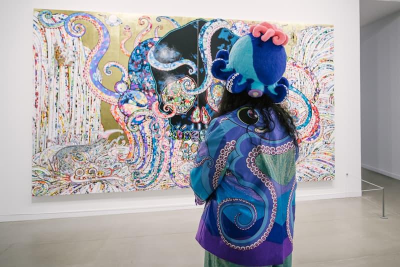Takashi Murakami The Octopus Eats Its Own Leg Vancouver Art Gallery Exhibit Display Off White Air Jordan 1 Japanese Art Anime