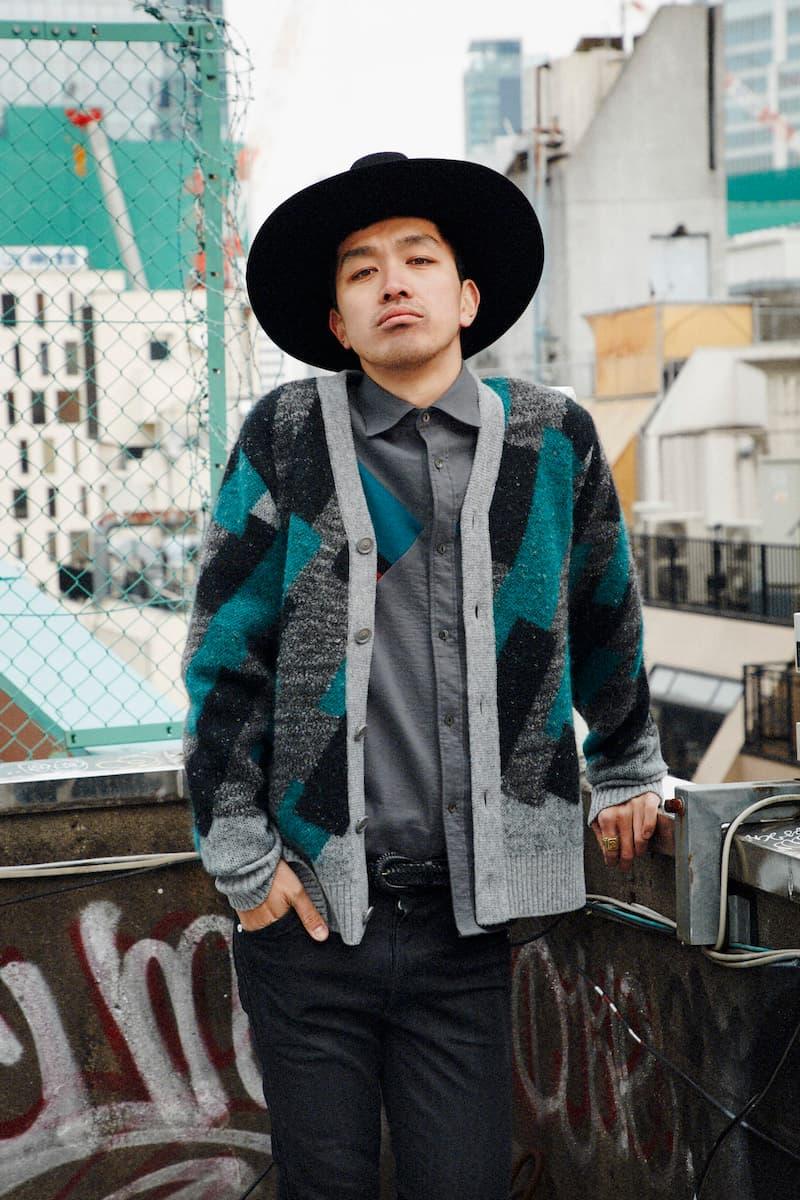 Tashiro Fall Winter 2018 Men's Collection Menswear Streetwear Japan Label Underground Culture Cardigans Mens