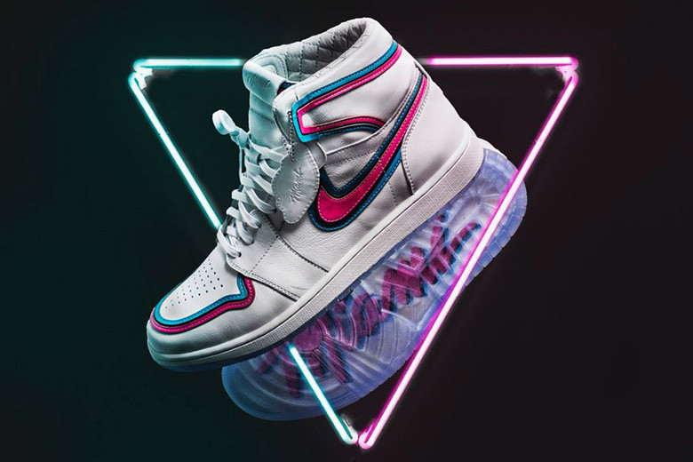 classic 204e0 d5994 The Shoe Surgeon x Miami Heat Air Jordan 1 | HYPEBEAST