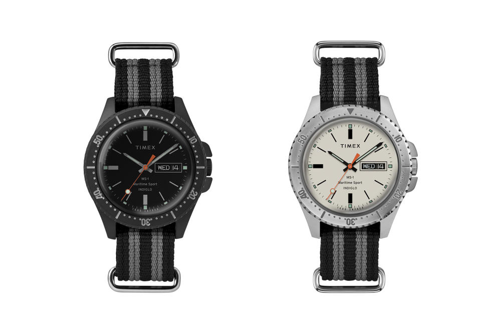 Todd Snyder and Timex MS1 Maritime Sport Watch
