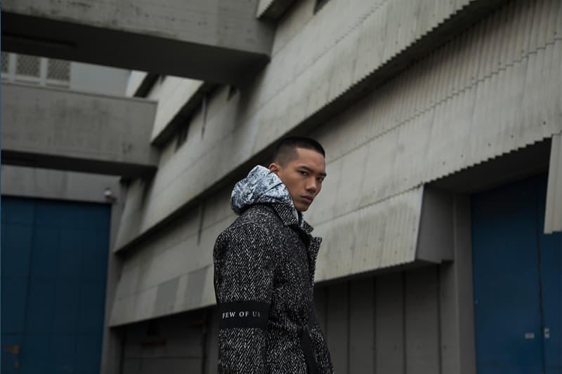 Tobias Birk Nielsen 2018 Fall Winter Few of Us collection Lookbook copenhagen