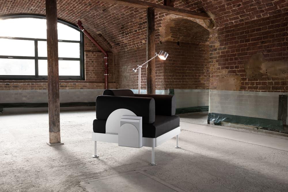Tom Dixon IKEA DELAKTIG Collaboration Homewares Sofa Couch HACK Throw Cover Side Table Floor Lamp