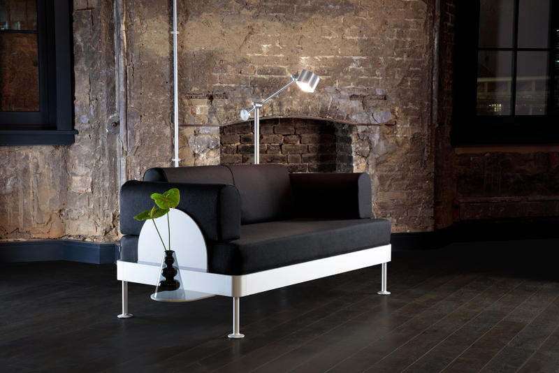 Tom Dixon IKEA DELAKTIG Collaboration Homewares Sofa Couch HACK Throw Cover Side Table Floor Lamp
