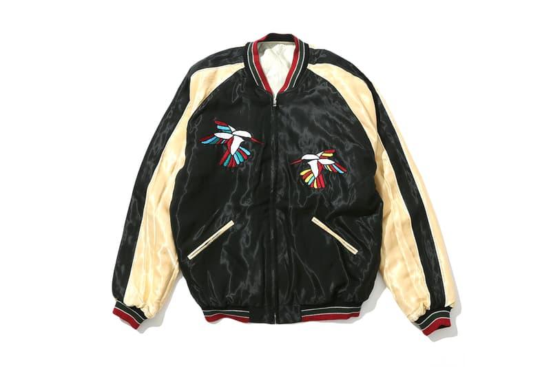 journal standard tr4 suspension TAILOR TOYO Reversible satin Souvenir Jackets spring summer 2018 release date info drop march 2 enterprise hummingbird