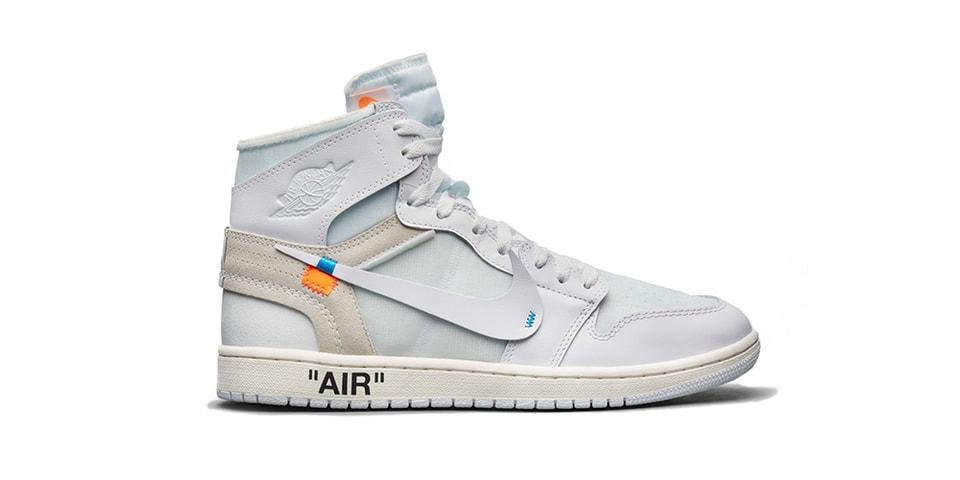 6e9c6d7dd7a1 Virgil Abloh x Air Jordan 1