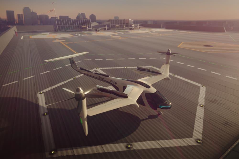 Uber Flying Cars Plan Tech Crunch Ctrl+T Elevate Justin Erlich