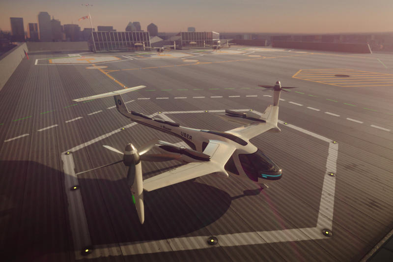 Uber Flying Cars Plan Tech Crunch Ctrl+T Elevate Justin Erlich