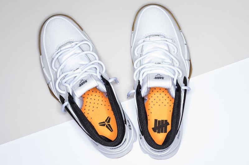 UNDEFEATED Nike Kobe 1 Protro white gum Kobe Bryant Nike Basketball footwear pop up all star weekend los angeles asw asg
