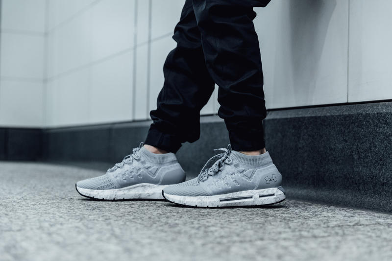 low priced 25cd1 0099c Under Armour HOVR Phantom Light Gray Colorway | HYPEBEAST