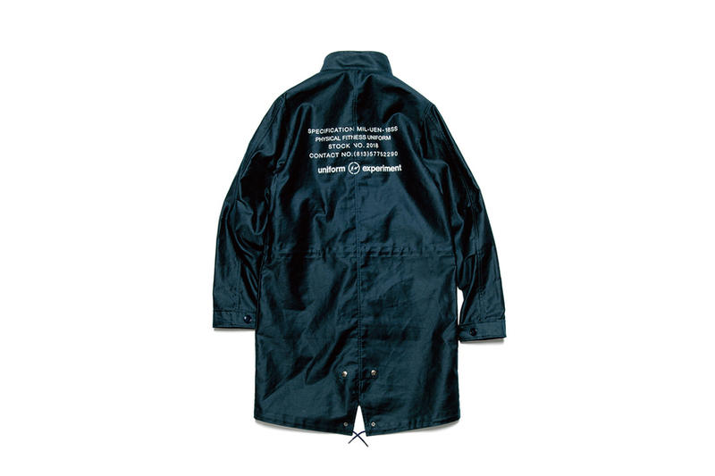 uniform experiment Spring/Summer 2018 Collection MA-1 Blouson Lookbook