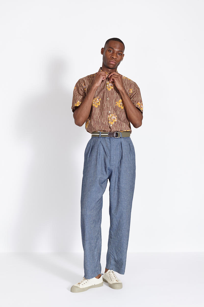 Universal Works 2018 Spring Summer Lookbook Available Now African Prints