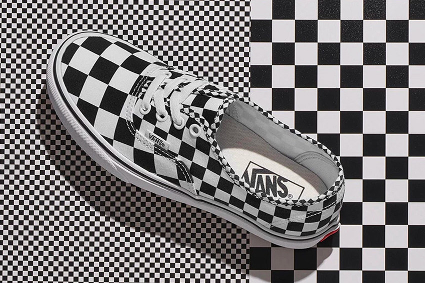 Vans New Checkerboard Print Collection