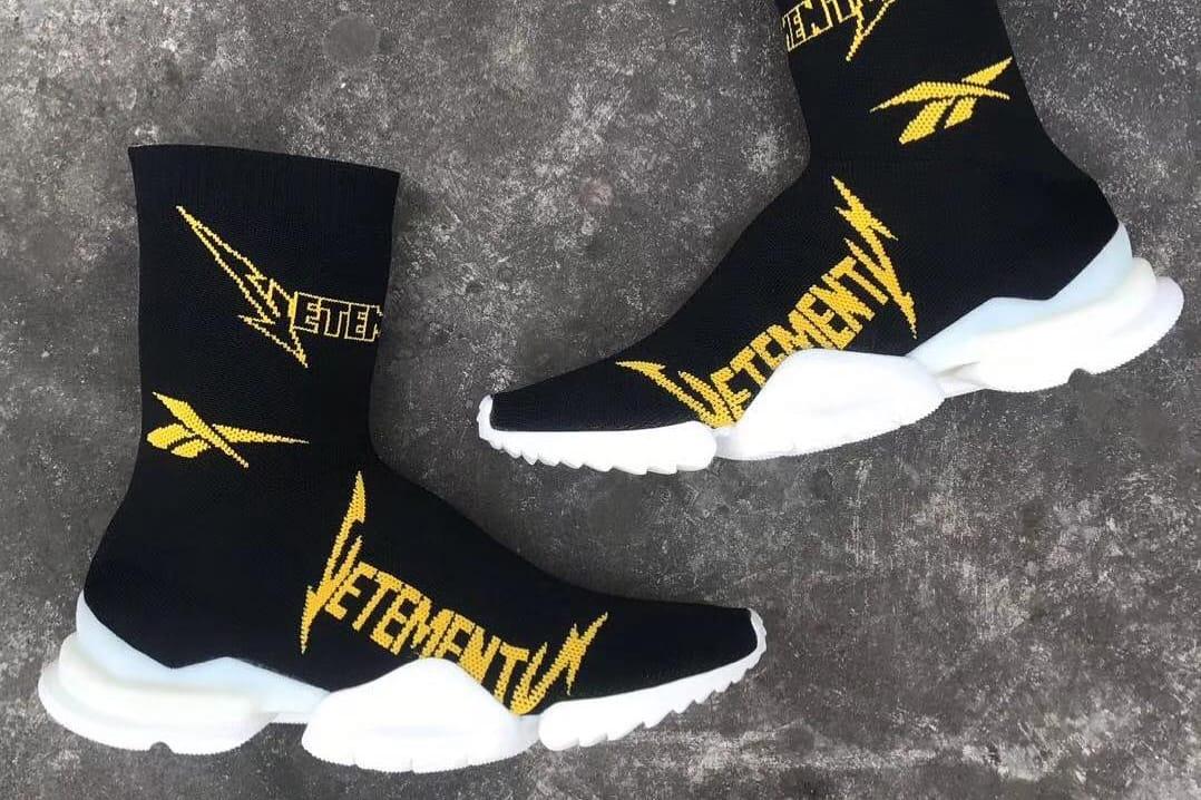 vetements sock runner