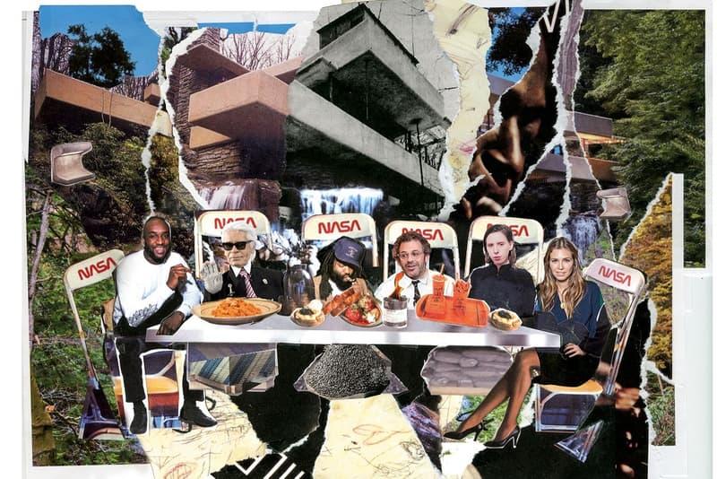 Virgil Abloh GARAGE No 14 Dream Dinner Party 2018 Interview Issue Magzine