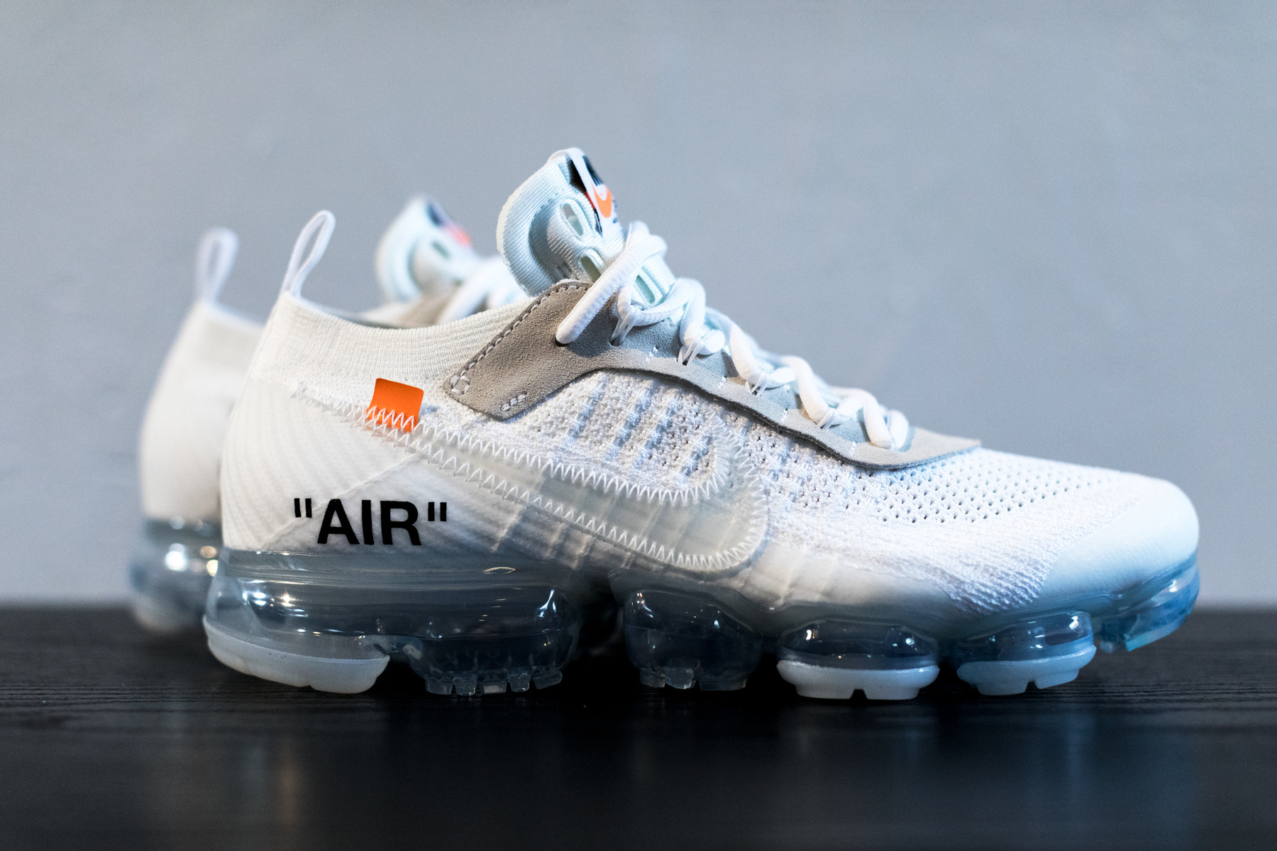 air vapormax flyknit off white