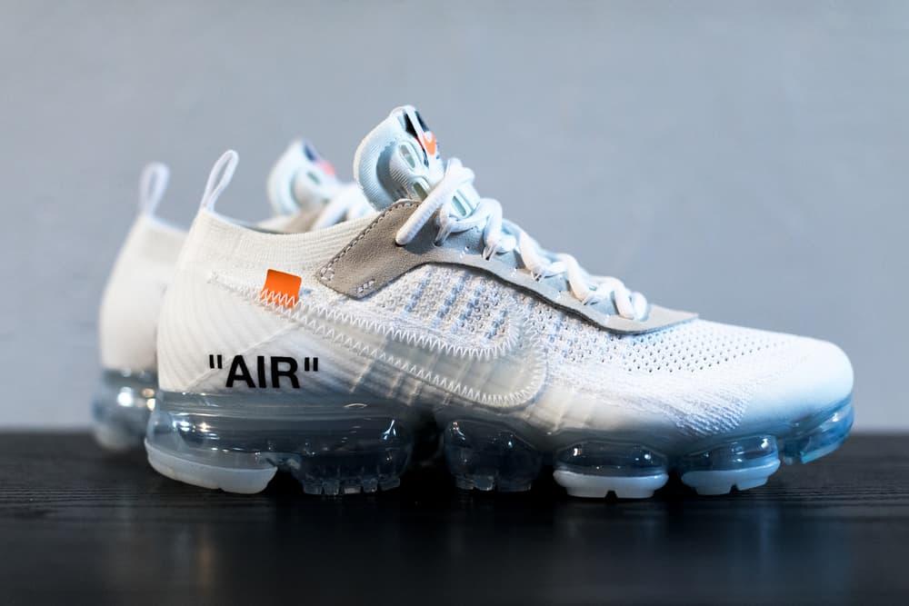 Virgil Abloh x Nike Air Vapormax White Off-White Tonal Orange Black