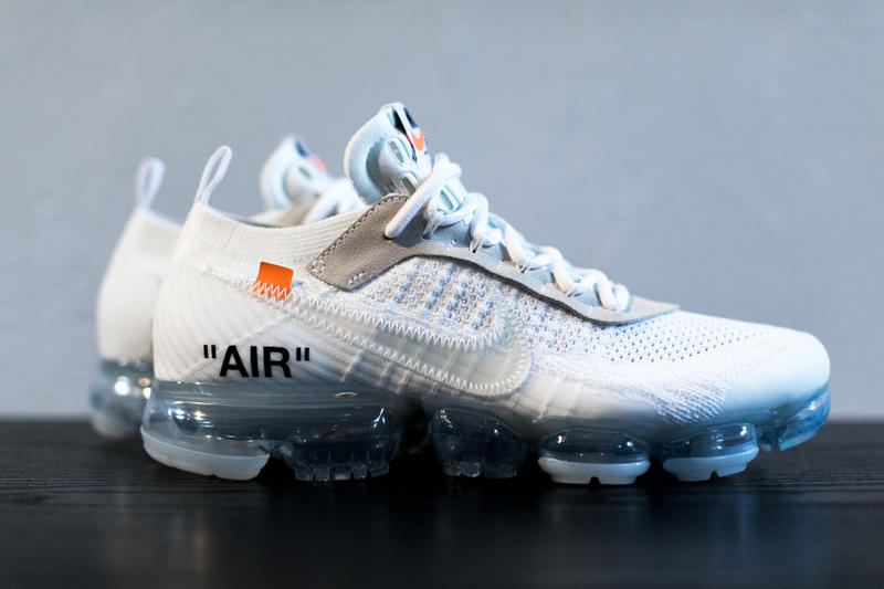 9e157cee03cba Virgil Abloh x Nike Air Vapormax White Off-White Tonal Orange Black