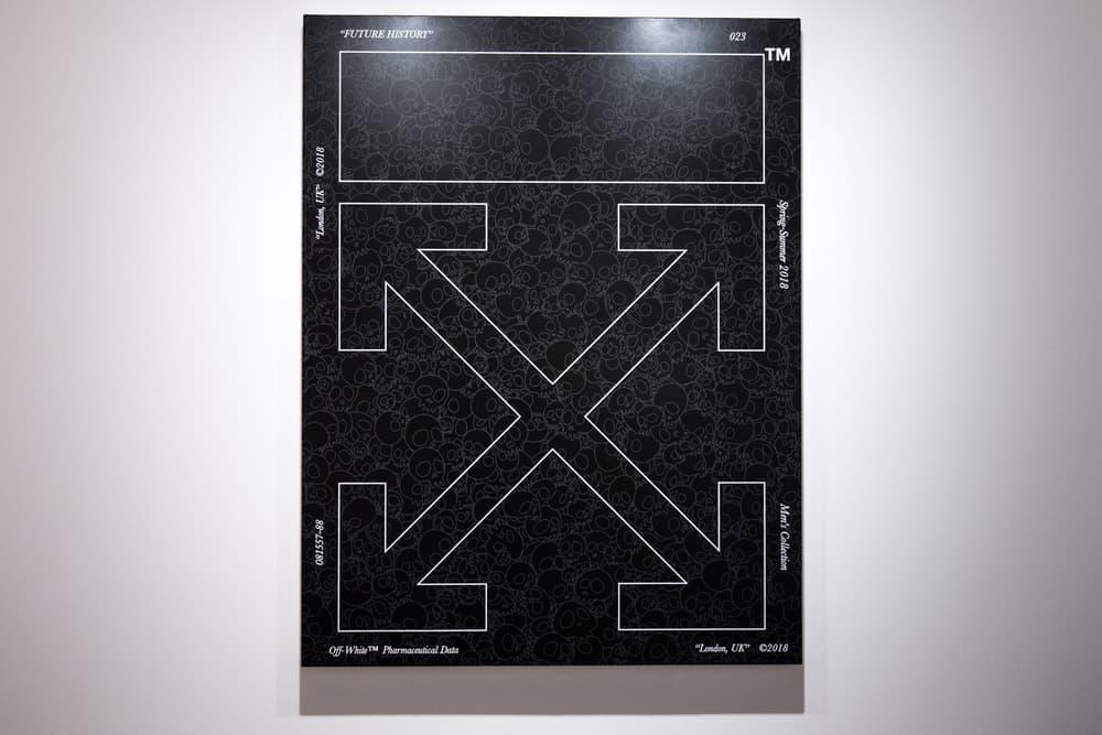 Virgil Abloh Takashi Murakami Future History Gagosian London Artwork Exhibit Exhibition art show
