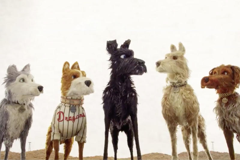 Wes Anderson 'Isle of Dogs' New Clip movie trailer watch Edward Norton Bill Murray Jeff Goldblum Tilda Swinton Bryan Cranston Yoko Ono