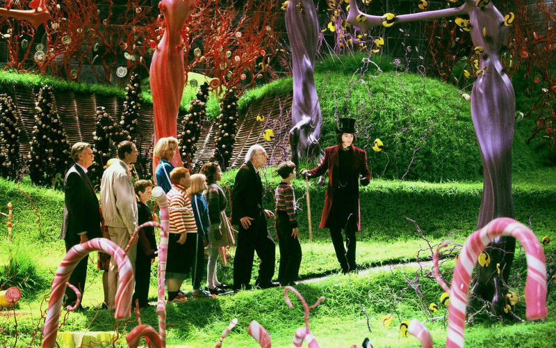 Willy Wonka Chocolate Factory Cost $224.6 Million USD