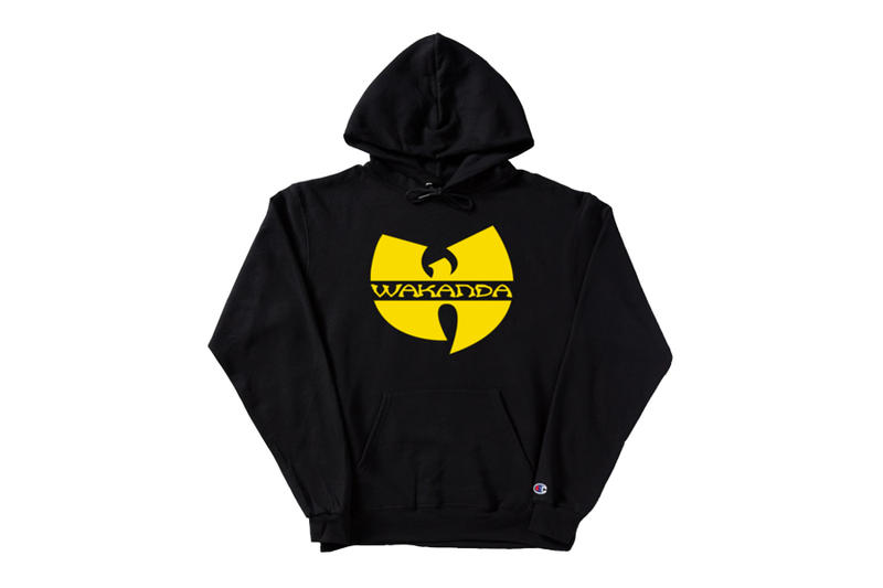 Pizzaslime Wu Wear Wakanda Merch Black Market black yellow hoodie crewneck t -shirt Marvel Africa 95e5350a8