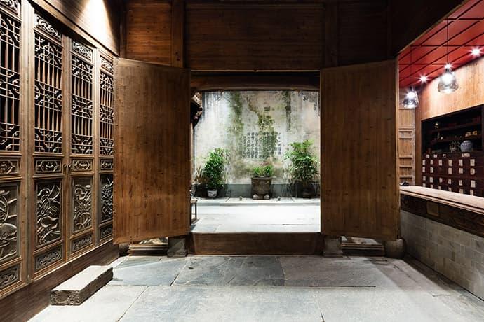 Wuyuan Skywells Boutique Hotel anyscale ancient China Jiangxi province yan village