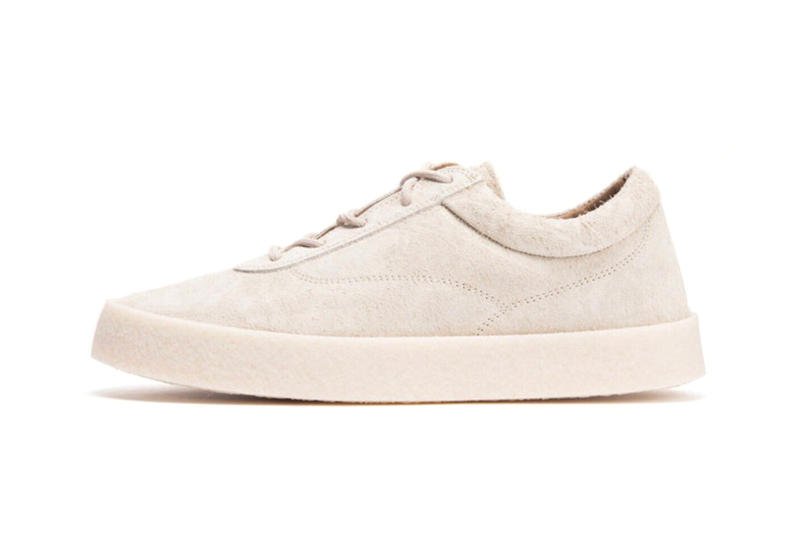 Kanye West YEEZY Season 6 Chalk Thick Snaggy Suede Crepe Sneaker Leak Cream Creme Low Top Yeezy Mafia Yeezy Supply