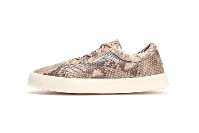 YEEZY Season 6 Crepe Sneaker Python Skin 1400 usd dollars kanye west