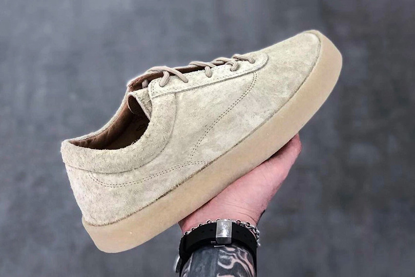 YEEZY Season 6 Suede Crepe Sneaker