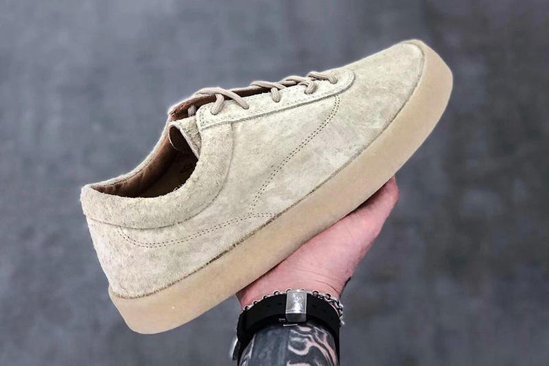 YEEZY Season 6 Snaggy Suede Crepe Sneaker Better Look Chalk purchase release date
