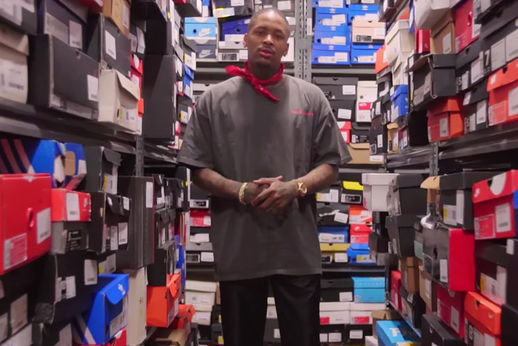 b5687ac27c7  Sneaker Shopping  Hits the West Coast with YG