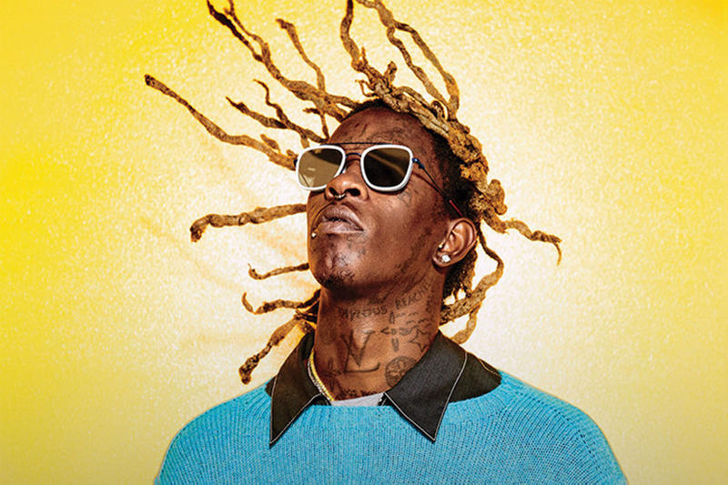 Young Thug 24hrs A Trak Falcons Ride for Me Single Stream 2018 february 7 release date info debut premiere spotify itunes apple music tidal soundcloud