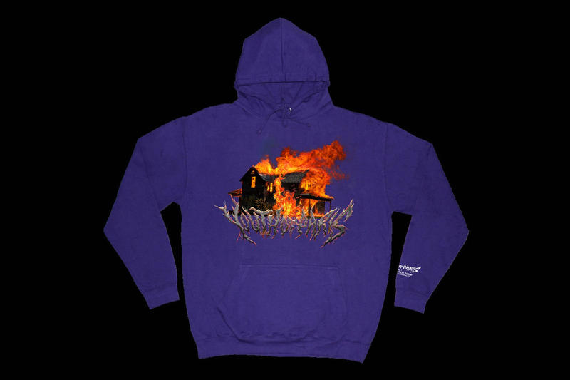YOUTH of PARIS New 2018 Final World Tour Hoodies House Burn Almost Nothing