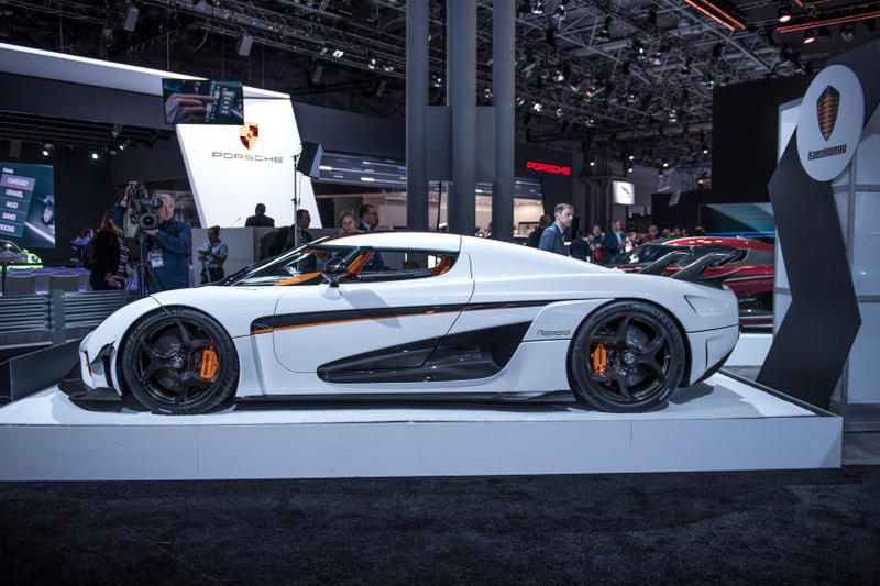 New York Auto Show Top Hype Cars To See HYPEBEAST - International car show