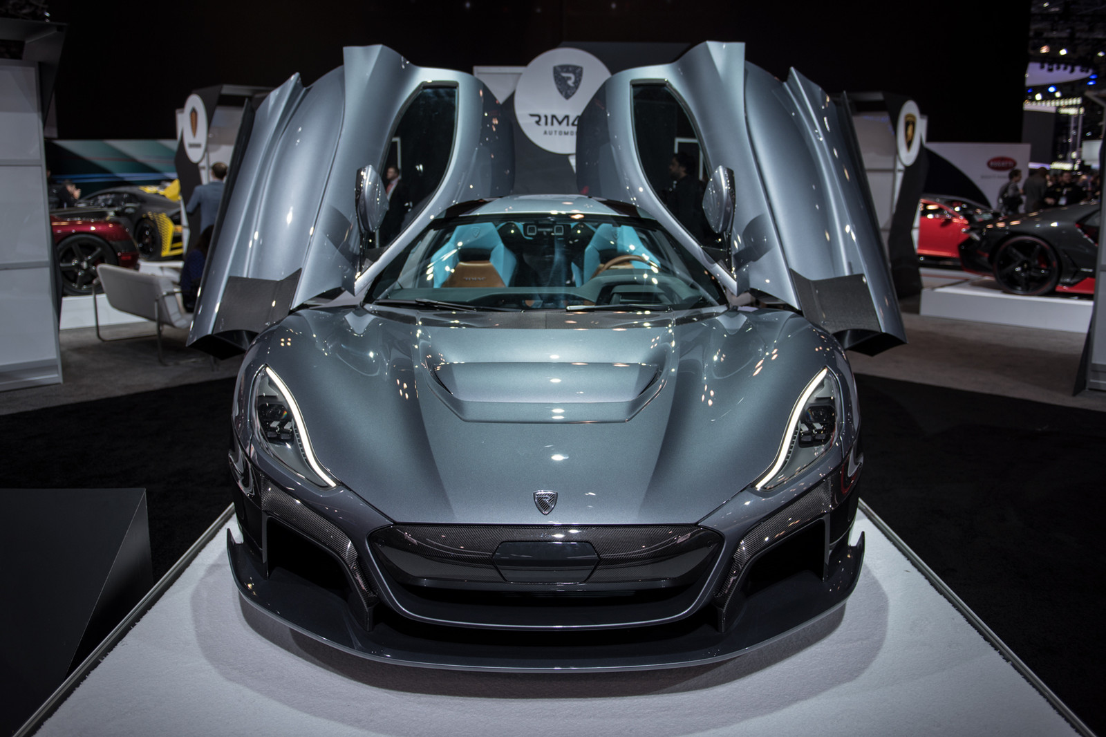 2018 New York International Auto Show Top 15 Hype Cars NYIAS Supercar Hypercar DSNY Formula Drift TRD Toyota Racing Development Fredic Aasbo Porsche 911 GT3 RS Mazda Kai Concept BMW M1 Procar Bugatti Chiron Sport Rimac C Two GMC Sierra Denali HD All Mountain Concept Koenigsegg Regera Lizard Green Kia Stinger GT Pimp My Ride West Coast Customs Mercedes AMG GT 63 S Mercedes Maybach S650 Cabriolet BMW i8 Roadster Corolla Hatchback Ultima EVO Coupe 1967 Bizzarrini P538 Race Car Super Car Hyper Car