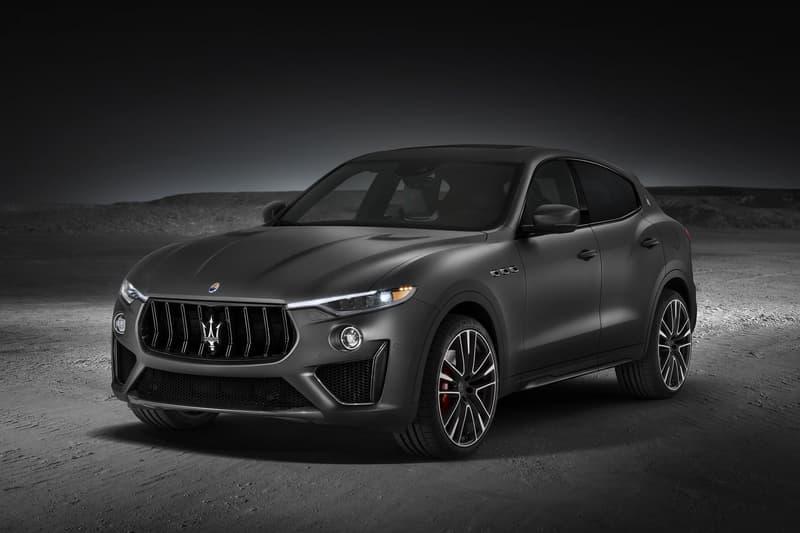 New 2019 Maserati Levante Trofeo Automotive SUV cars race cars sports cars luxury Maserati Ferrari Horsepower Italian Design