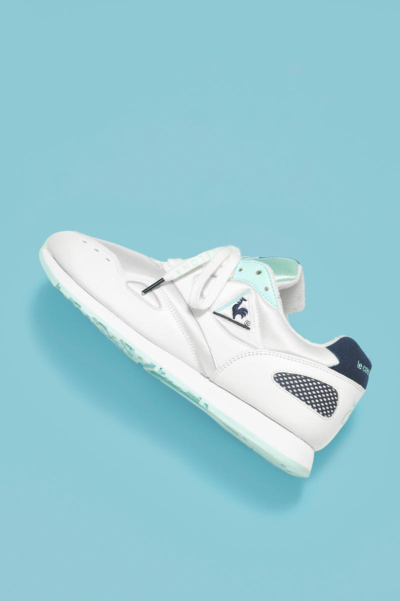 24 Kilates Le Coq Sportif Flash Collaboration capsule collection white april 7 2018 release date info drop sneakers shoes footwear