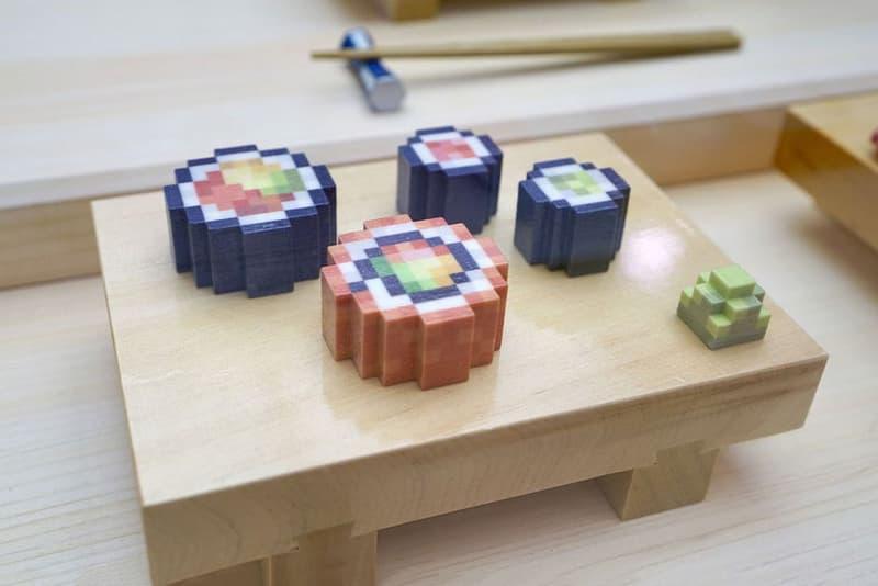 Pixel Food Prints Sushi 3D printing Food foodporn Japanese SXSW