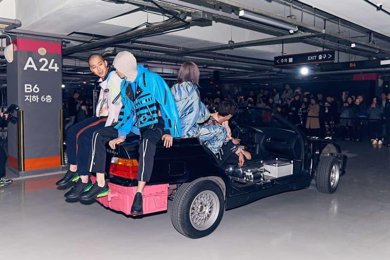 99%is Fall/Winter 2018 Challenge Runway Seoul Fashion Week South Korea