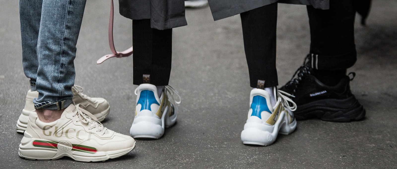Chunky Sneakers Trend 2018 Balenciaga Triple S