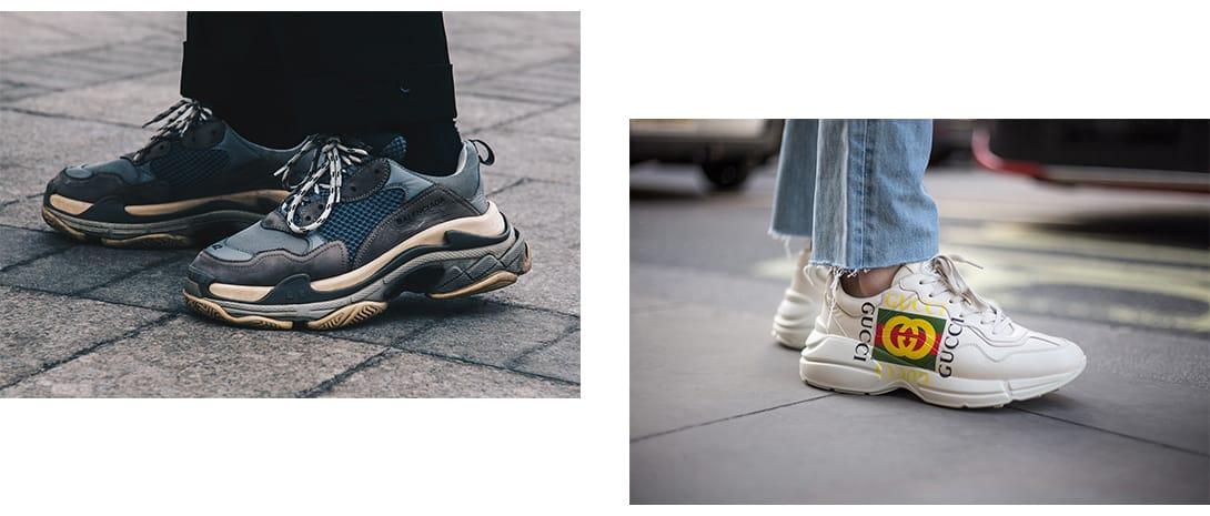 trendy sneakers 2018